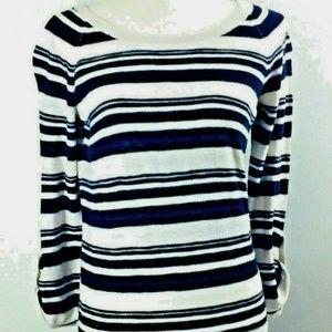 Banana Republic Womens Small Stripe Pullover